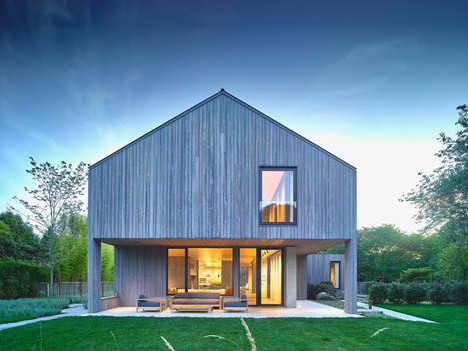Overtly Minimalist Houses