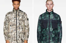 Alligator Camo-Printed Outerwear