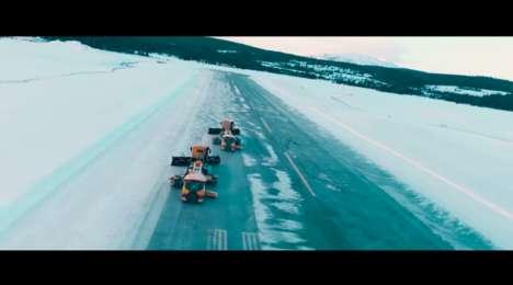 Autonomous Airport Snowplows