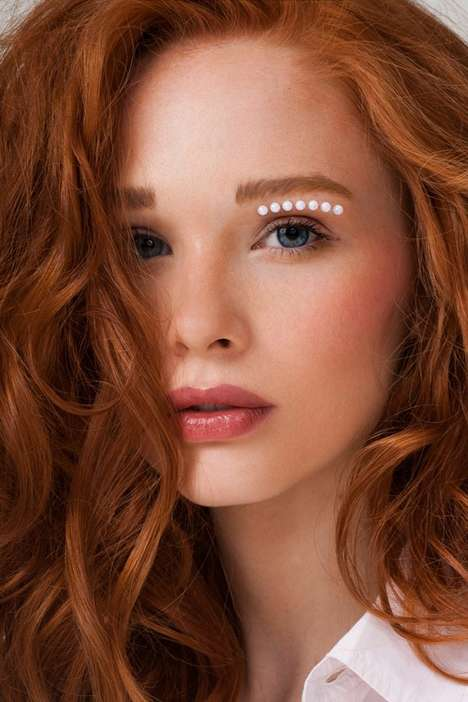 Pearl-Accented Beauty Portraits