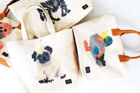 Watercolor Animal Tote Bags