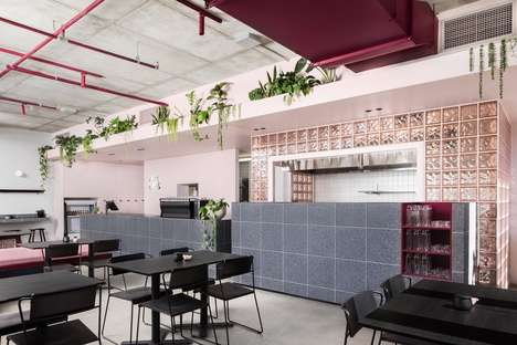 Refreshing Modern Cafe Designs