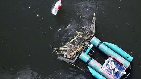 Remote-Controlled Trash Robots