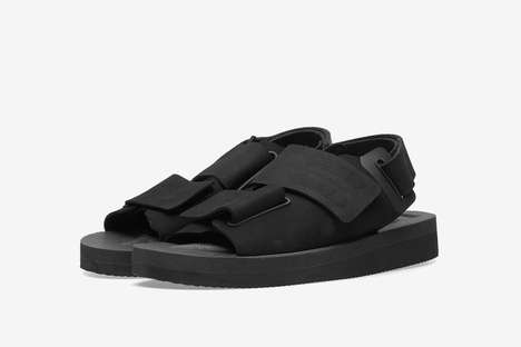 Chunky Summer Sandals - SUICOKE Worked with Descente ALLTERRAIN on a Sturdy New Sandal