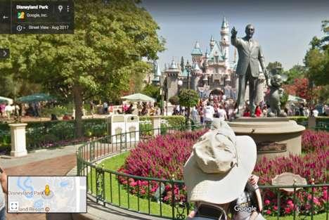 Street View Theme Parks