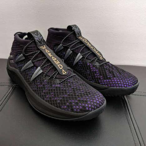 Fan-Created Superhero Sneakers