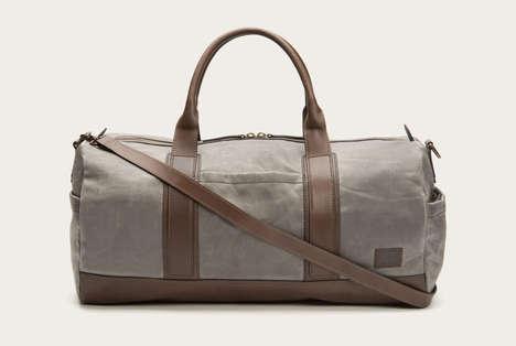 Waxed Canvas Duffel Bags