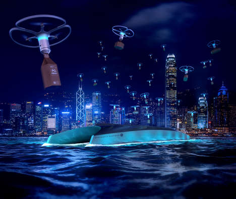 City-Wide Drone Delivery Systems