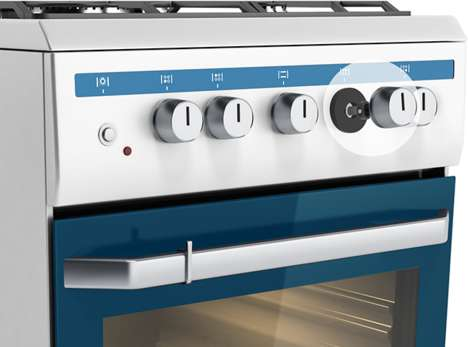 Safety-Focused Stove Sensors - The 2GIG Stove & Grill Guard Gives an Alert If the Stove is Left On