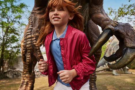 Dinosaur-Inspired Clothing Collections