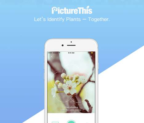 Horticulture Identification Apps - The 'PictureThis' App Lets You Quickly Identify Flower and Plants