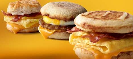 Premium Breakfast Sandwich Promotions - These McDonald's Sandwiches are Available at a Special Price