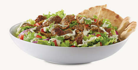 Greek-Inspired QSR Meals - The New Arby's Greek Gyro Menu is Packed with Options for Everyone