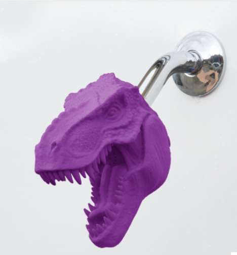 Playful 3D-Printed Showerheads - Zooheads Boasts Chromatic Animal-Themed Bathroom Accessories