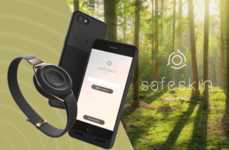 "Anti-Theft Phone Accessories - Safeskin Consists of an ""Eye,"" a Case and a Phone Application"