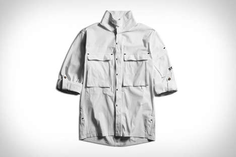 All-Weather Button-Up Shirts