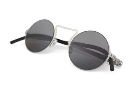 Neo-Vintage Minimalist Glasses