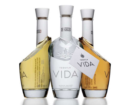 Angular Tequila Bottles