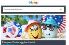 Easter Egg Travel Ads
