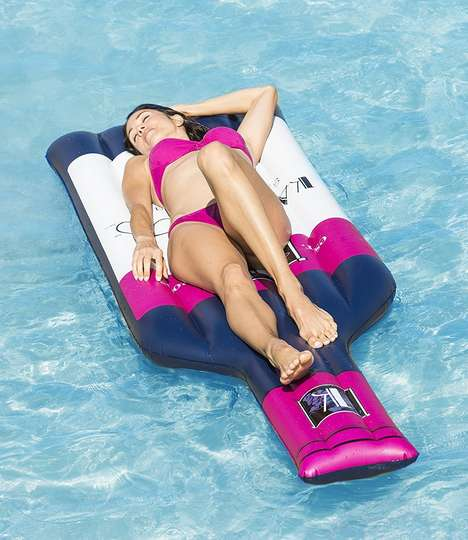 Wine Bottle Pool Floats