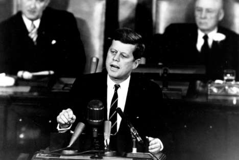 AI Presidential Speech Deliveries - AI Was Used to Recreate an Undelivered JFK Speech