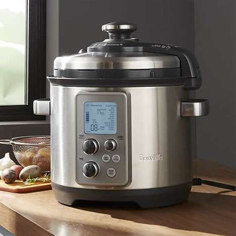 Automated Desktop Cooker Appliances - The Breville Fast Slow Pro Prepares Perfect Meals with Ease