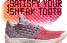 Life-Size Gummy Sneakers - Trolli Recreated the adidas x James Harden Sneaker with Candy