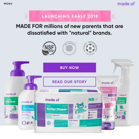 Transparency-Focused Baby Brands