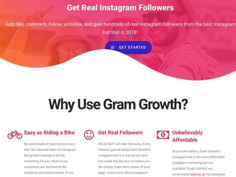Automated Social Marketing Tools - 'Gram Growth' Streamlines Instagram Marketing for Fast Growth