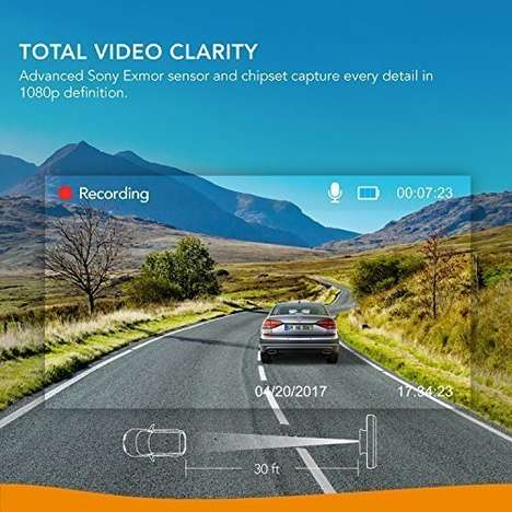 Motion-Detecting Dash Cams