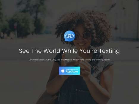 Walking-Friendly Text Apps