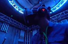 Motion-Tracking VR Systems - OptiTrack's Active VR System Lets Player Movements Control the Game