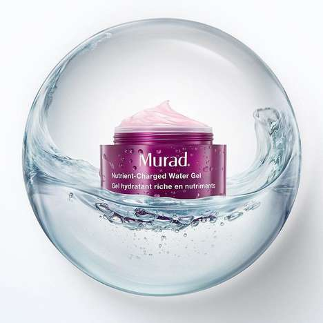 Nutrient-Dense Gel Moisturizers - Murad Offers a Hydrating Water-Based Moisturizer