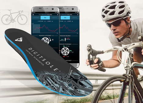 AI-Powered Insoles - Digitsole Is Helping Cyclists With Information Garnered From Their Feet