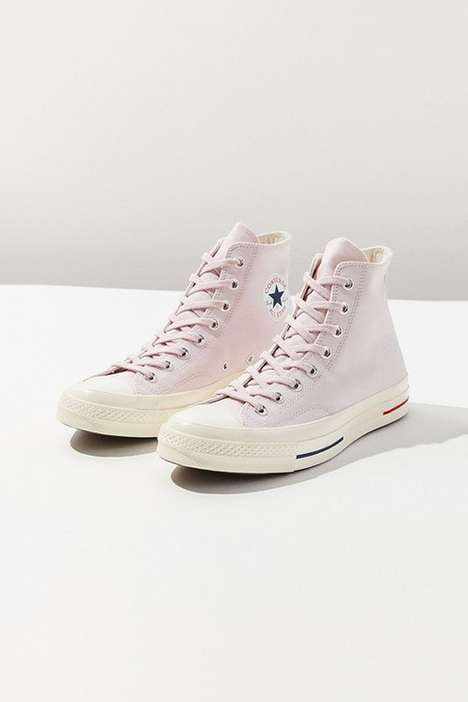 Pastel Pink High-Top Updates