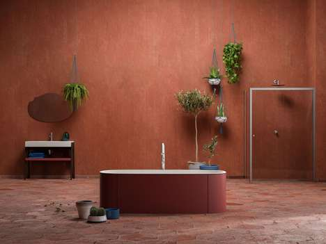 Contemporary Natural Aesthetic Bathrooms