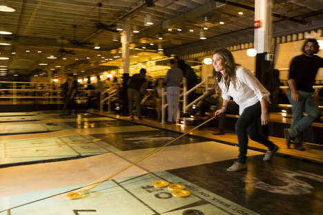 Millennial Shuffleboard Bars - Royal Palms Shuffleboard Club Brings the Sport to a Younger Audience