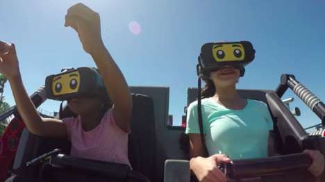 VR LEGO Roller Coasters