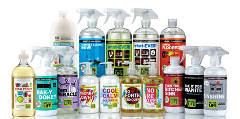 Plant-Derived Cleaning Collections - Clean Happens' Products Favor Natural Scents & Extracts