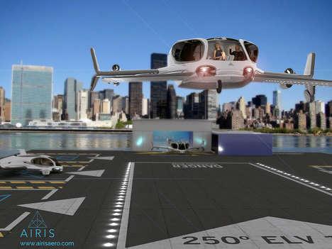 Speedy Flying Autonomous Taxis