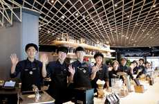 Cashless Coffee Chain Locations - Three Cash-Free Starbucks' are Opening in South Korea