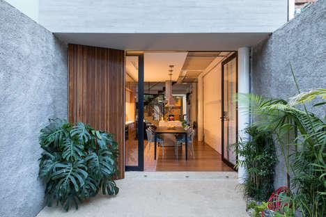 Contemporary Slender Houses