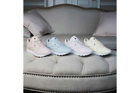 Vintage-Inspired Pastel Sneakers - Reebok and FACE Stockholm Partnered in This Sneaker Collection