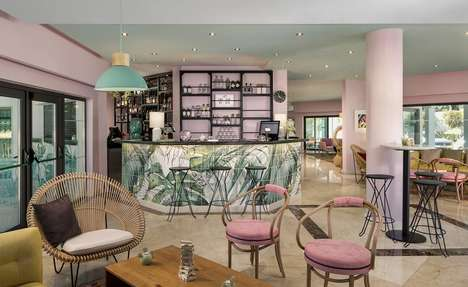 Pastel-Themed Retro Hotels