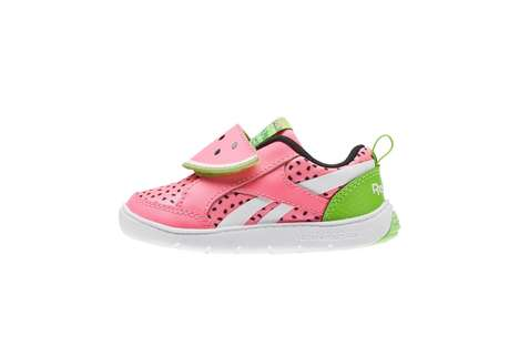 Watermelon-Themed Youth Sneakers