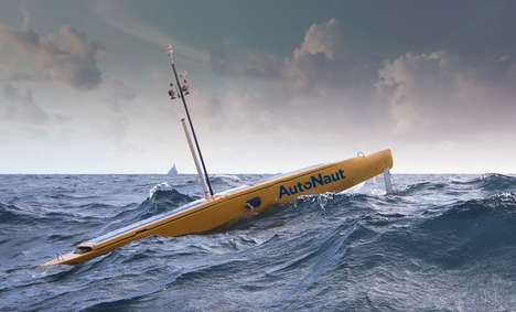 Wave-Powered Autonomous Boats