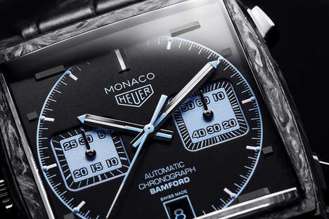 Re-Imagined Carbon Timepieces