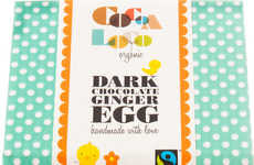 Ginger-Infused Easter Eggs - Cocoa Loco's Ginger Dark Chocolate Easter Egg is Vegan-Friendly