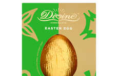 Dairy-Free Mint Chocolate Eggs - The Divine Dark Chocolate Egg with Mint Crisp is Diet-Specific