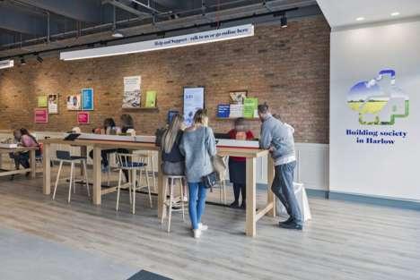 Contemporary Bank Re-Designs